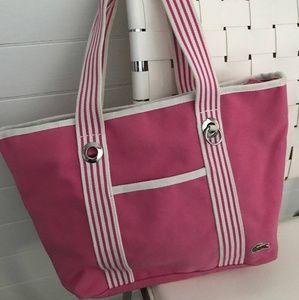 Lacoste Pretty Pink Tote